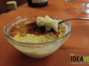Arroz con leche requemado